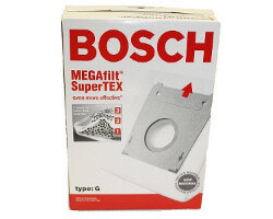 Bosch Type G Vacuum Bags (5 bags + filter)