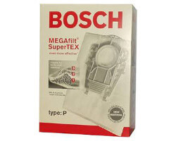Bosch Type P Vacuum Bags (5 pack + filter)