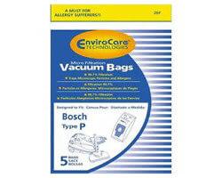 Bosch Type P Vacuum Bags (5 pack)