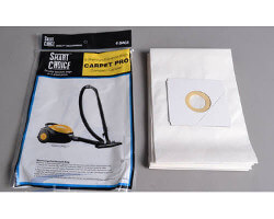 Carpet Pro CC-6 Canister Vacuum Bags (6 pack)