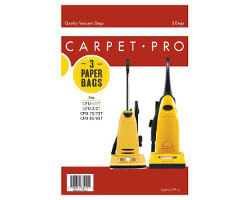 Carpet Pro CPP-6 Upright Vacuum Bags (6 pack)