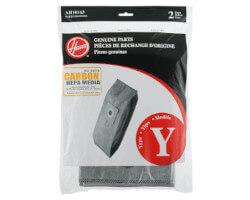 Hoover Type Y Carbon HEPA Bags (2 bags)