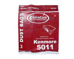 Kenmore Type P Canister Bags - 5011 (3 pack)