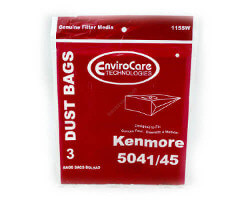 Kenmore Type H Canister Bags - 5041 & 5045 (3 pack)