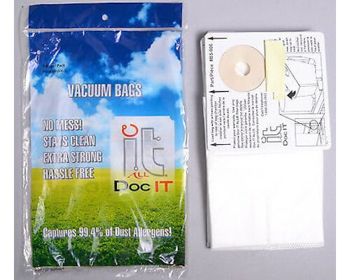 CanaVac Central Vacuum Bags B5-006-3 - Click Image to Close