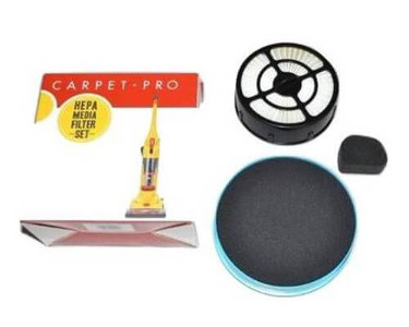 Carpet Pro CPBU-1 HEPA Filter Set CPBU-F