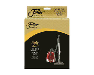 Fuller Brush Canister Nifty Maid & Tiny Maid HEPA Bags