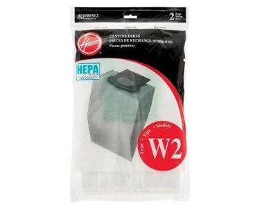 Hoover W2 Hepa Vacuum Bags 401080w2
