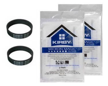 Kirby Avalir Sentria Ii And Sentria Vacuum Bags Belts