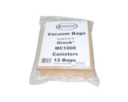 Oreck Quest Canister Bags PK12MC1000