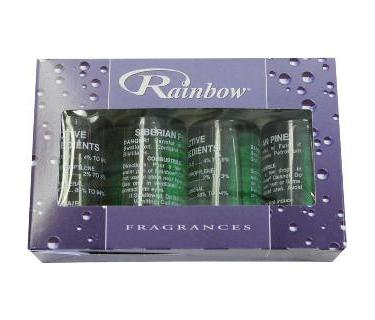 Rainbow Siberian Pine Fragrance Pack