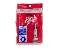 Dirt Devil Belt Style 6 (2 pack)