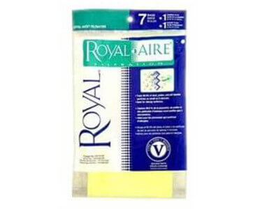 Royal Type V Vacuum Bags (7 pack)