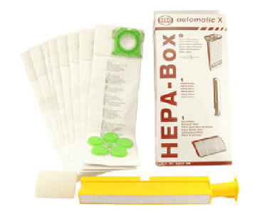 Sebo X Series HEPA Filter & Bag Kit 5827ER
