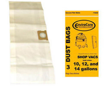 Shop Vac 90662 Type F Bags 10 to 14 gallon