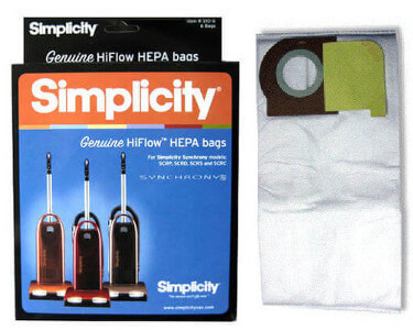 Simplicity Synchrony Type W HEPA Bags