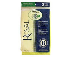 Royal Type B HEPA Bags (3 pack)