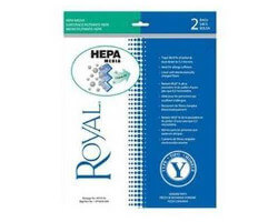 Royal Type Y HEPA Vacuum Bags (2 pk)
