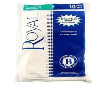 Royal Type B Vacuum Bags (10 pack)