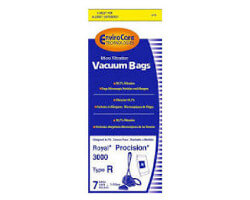 Royal Type R Canister Vacuum Bags (7 bags + filter)