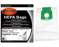 Simplicity Type C Vacuum Bags for Wonder (18 bags)