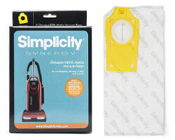 Simplicity Synergy S40 HEPA Vacuum Bags